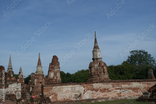 Photo Ayutthaya is an ancient city in Thailand