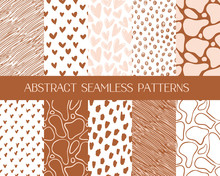 Abstract Seamless Patterns, Ve...