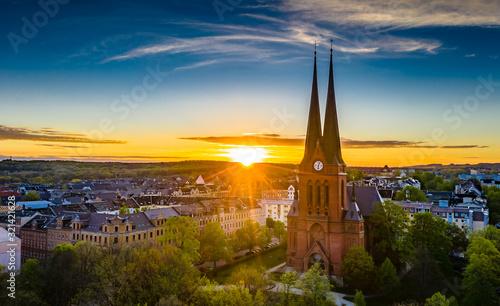 Chemnitzer Kirchen Fototapete