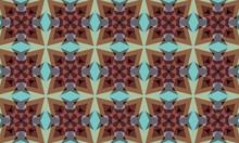Colorful Abstract Kaleidoscope...