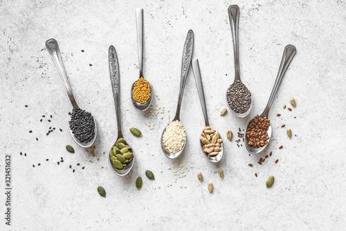Fototapeta Seeds Selection obraz