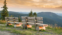 Benches On The Feldberg With A...