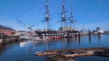 Uss Constitution In Boston Har...