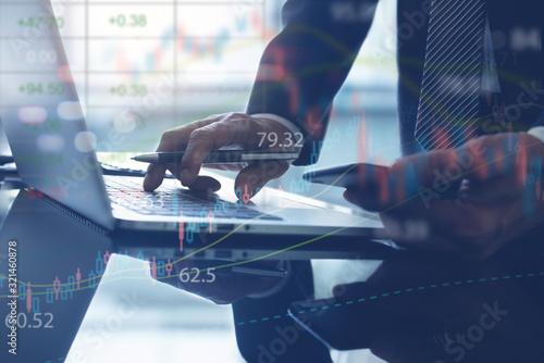 Foto Stock market analysis