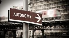 Street Sign To Autonomy