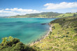 View to the Martin's beach and Omapere, New Zealand
