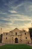 The Alamo in San Antonio at Dawn