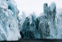 Moody Icebergs In Western Gree...