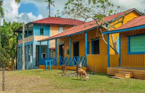 Biran plantation, the Fidel and Raul Castros birthplace Tablou Canvas