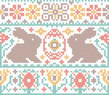 Cross Stitch Embroidery Pattern