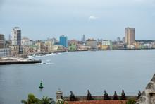 Cuba, Havana, City Waterfront ...