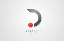 Letter D Logo Alphabet Icon De...
