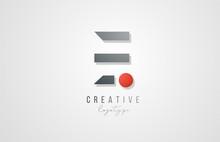 Letter E Logo Alphabet Icon De...