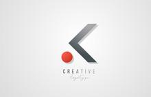 Letter K Logo Alphabet Icon De...