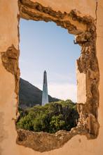 Spain, Mallorca, Tower Seen Th...
