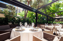 Elegant Restaurant Terrace
