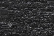 Textura De Parede De Pedra Mar...