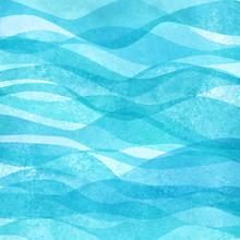 Watercolor Transparent Sea Oce...