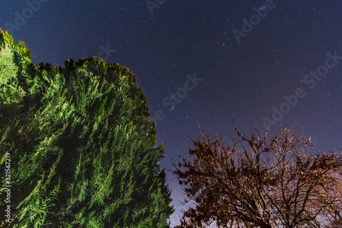 Photo Starry night in Albuquerque, New mexico