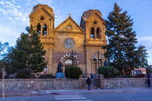 Fototapeta premium Fotografia miejska Santa fe, Nowy Meksyk