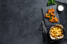 Fish And Chips, Traditional En...