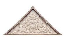 Roof Gable Thai Style Templ