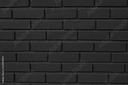 Black brick usage for background, from the temple walls.