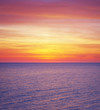 canvas print picture Colours of sea sunset.
