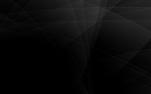 Abstract Geometric Black And G...