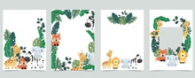 Green Collection Of Jungle Fra...