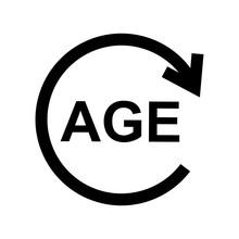 Age Limit Icon Design Vector L...
