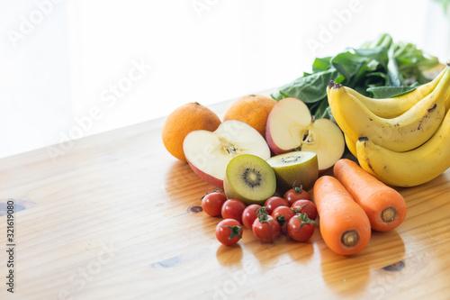 野菜 果物 Canvas Print