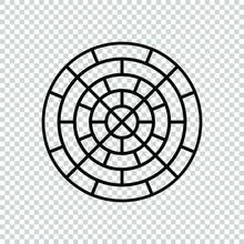 Paver Block Brick Floor Lines ...