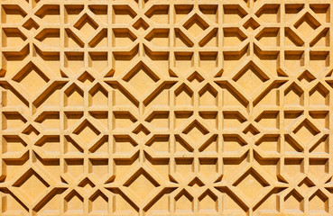 Geometrical abstract arabian pattern