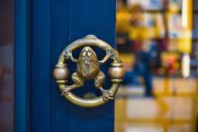 Frog Door Decoration