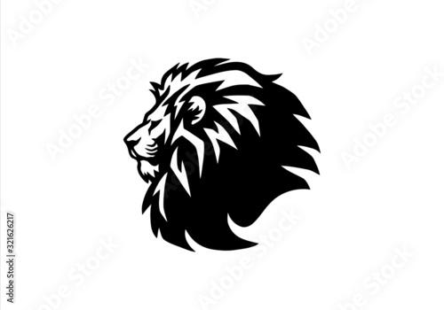 lion,animal, animals, branding, cat, classic, club, elegant,lion Fototapet