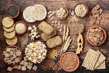 High Fibre Health Food Concept...