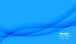 abstract blue background with wavy shapes design