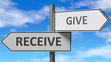 Receive And Give As A Choice -...