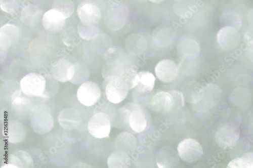 Fototapeta Abstract glittering silver glitter sheet reflected in sunlight obraz na płótnie