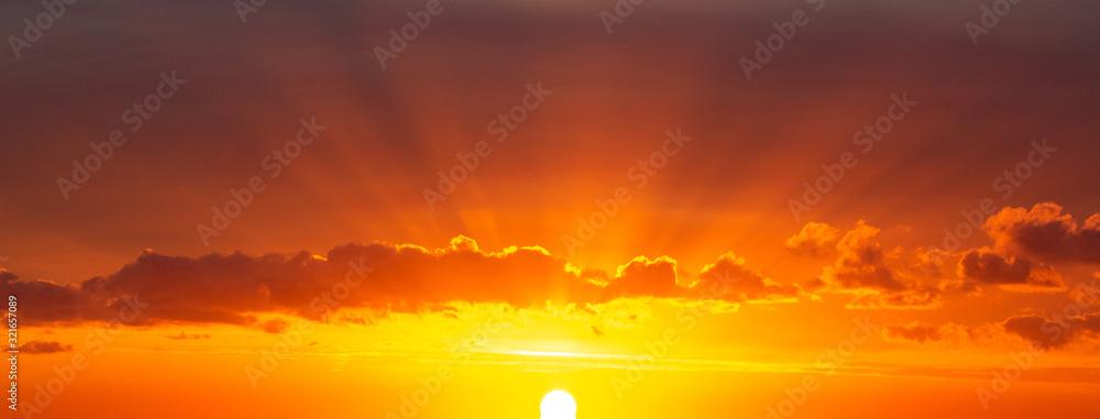 Fototapeta rising sun 3