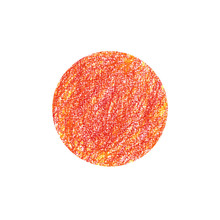 Red And Yellow Crayon Circle D...