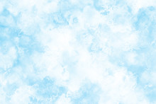 雪と氷の水面イメージ...