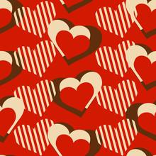 Love Hearts Decorative Seamles...
