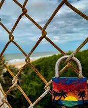 Painted Love Locked On Vilano ...