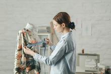 Tailor Adjusts Garment Design ...