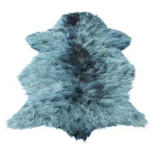 Blue Decor Skin Of A Sheepskin...