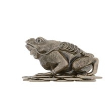 Money Frog On A White Background. Isolate.