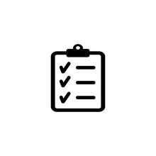 Check Board Icon Vector Design...