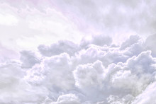 Fluffy Sky Cloudy Atmosphere A...